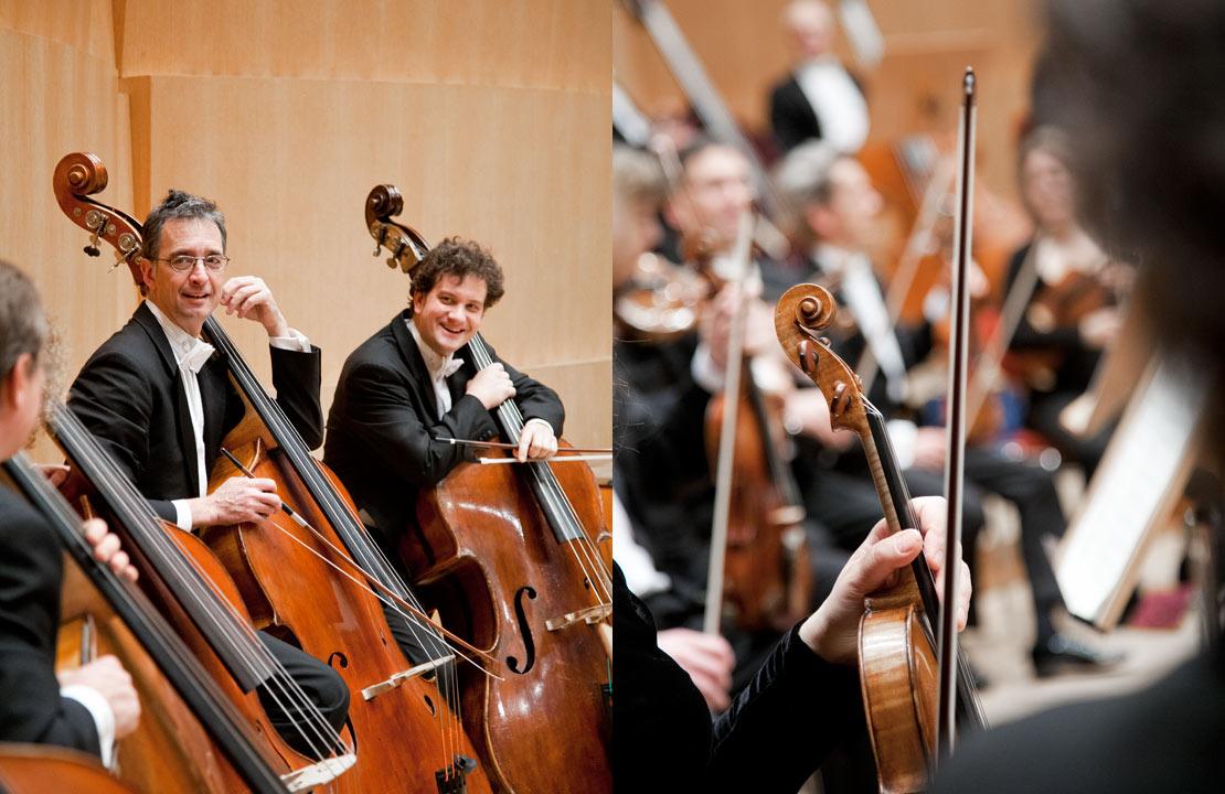 catrin_moritz_guerzenich_orchester_10, links musiker, kontrabässe, rechts, violine, hand, bogen