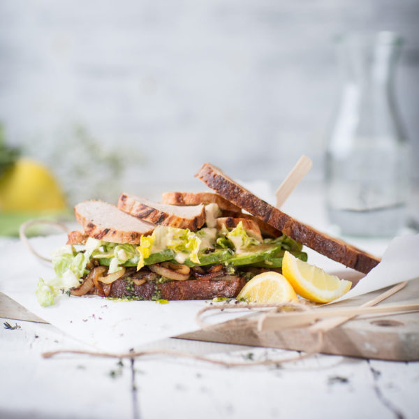 Kochschule Foodie Caesar Salad